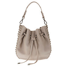 Buy Mint Velvet Georgia Duffle Bag, Mink Online at johnlewis.com