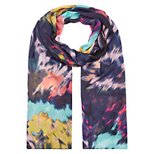 Buy Hobbs Belinda Scarf, Navy Multi Online at johnlewis.com
