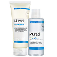 Buy Murad Clarify Cleanser & Toner Duo Online at johnlewis.com