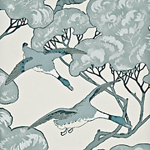 Buy Mulberry Home Flying Ducks Wallpaper Online at johnlewis.com