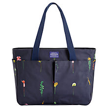 Buy Joules Carrie Garden Canvas Shoulder Bag, Navy Online at johnlewis.com