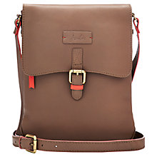 Buy Joules Laverton Leather Across Body Bag Online at johnlewis.com
