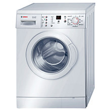 Buy Bosch Serie 4 Maxx WAE28377GB Freestanding Washing Machine, 7kg load, A+++ Energy Rating, 1400rpm Spin, White Online at johnlewis.com