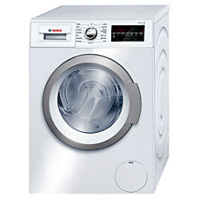 Buy Bosch WAT24460GB Freestanding Washing Machine, 8kg Load, A+++ Energy Rating, 1200rpm Spin, White Online at johnlewis.com