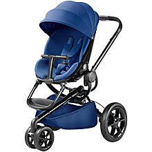 Buy Quinny Blue Base Moodd Pushchair with Free Car Seat Online at johnlewis.com