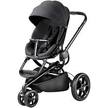 Buy Quinny Moodd Pushchair, Black Devotion Online at johnlewis.com
