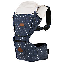 Buy I-Angel Baby Carrier, Hipseat And Toddler Backpack, Denim Starlight Online at johnlewis.com