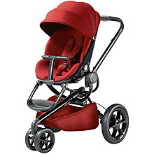 Buy Quinny Red Rumour Moodd Pushchair with Free Car Seat Online at johnlewis.com