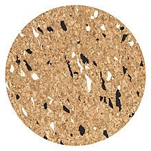 Buy House by John Lewis Cork Coaster, Black/White Online at johnlewis.com