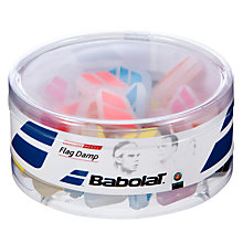 Buy Babolat Tennis Racket Flag Dampeners, Multi Online at johnlewis.com