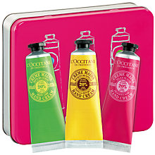 Buy L'Occitane Nourishing Hand Cream Trio, 3 x 30ml Online at johnlewis.com