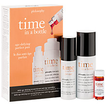 Buy Philosophy Time In A Bottle Capsule Set Online at johnlewis.com