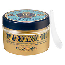 Buy L'Occitane One Minute Hand Scrub, 100ml Online at johnlewis.com