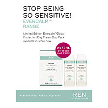 Buy REN Global Protect Day Cream Duo, 2 x 50ml Online at johnlewis.com