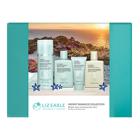 Buy Liz Earle Instant Radiance Collection Dry / Sensitive | John Lewis