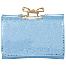Buy Ted Baker Fellowes Crosshatch Small Bow Purse Online at johnlewis.com
