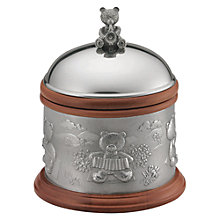 Buy Royal Selangor Teddy Bear's Picnic Collection Traditional Music Box Online at johnlewis.com