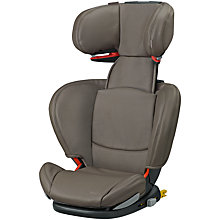Buy Maxi-Cosi RodiFix Leather Group 2/3 Car Seat, Major Brown Online at johnlewis.com