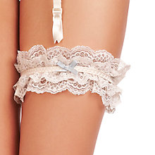 Buy Heidi Klum Intimates Odette Garter, Retro Cream Online at johnlewis.com