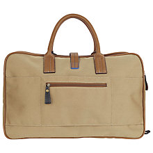 Buy Ted Baker Meldorn Overnight Bag, Natural Online at johnlewis.com
