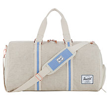 Buy Herschel Supply Co. Novel Holdall, Cream Online at johnlewis.com