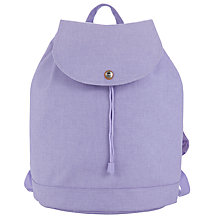 Buy Herschel Supply Co. Reid Mid Volume Backpack, Lilac Online at johnlewis.com