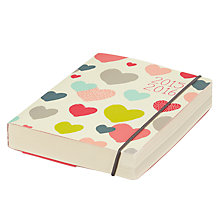 Buy Go Heart Perfect Bound Mid-Year Diary Online at johnlewis.com
