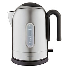 Buy John Lewis Bullet Kettle, Brushed Steel Online at johnlewis.com