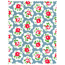 Buy Cath Kidston Provence Rose Fabric, Blue/Multi Online at johnlewis.com