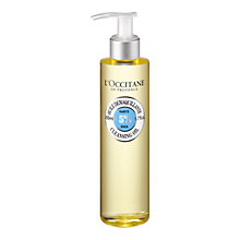Buy L'Occitane Shea Cleansing Oil, 200ml Online at johnlewis.com