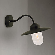 Buy Nordlux Luxembourg Outdoor Wall Light, Black Online at johnlewis.com