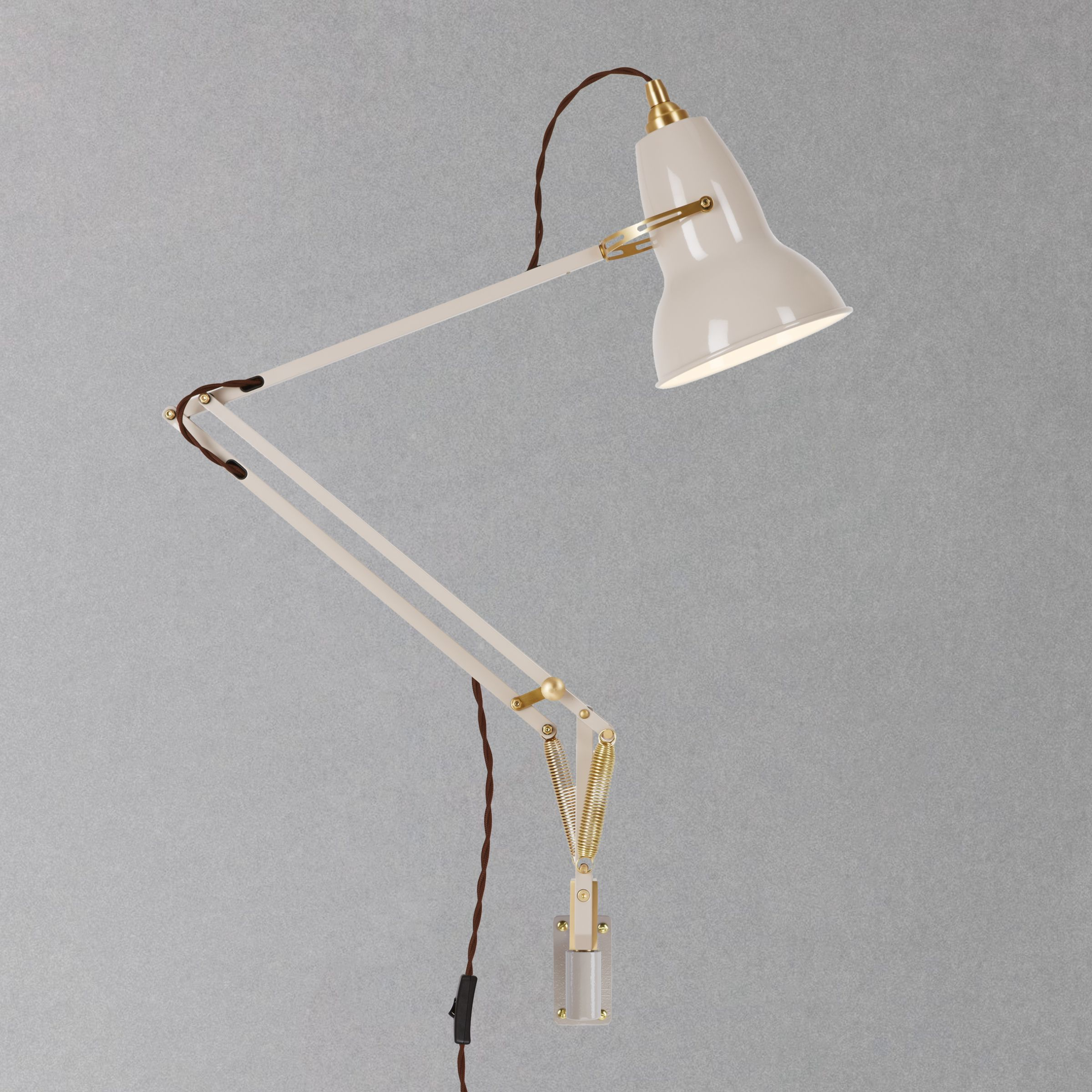 Wall Mounted Lamps John Lewis : Buy Anglepoise Original 1227 Brass Wall Mounted John Lewis
