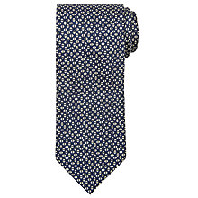 Buy John Lewis Made In Italy Triangle Print Silk Tie Online at johnlewis.com