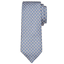 Buy John Lewis Made in Italy Mini Foulard Print Silk Tie Online at johnlewis.com
