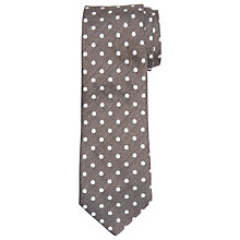 Buy John Lewis Made in Italy Large Spot Silk Tie Online at johnlewis.com