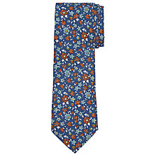 Buy John Lewis Made In Italy Silk Floral Tie Online at johnlewis.com