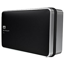 Buy WD My Passport Pro Portable Hard Drive, Thunderbolt, 4TB, Black Online at johnlewis.com
