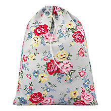 Buy Cath Kidston Pink Rose Laundry Bag Online at johnlewis.com