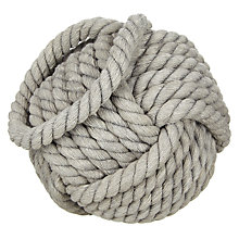 Buy John Lewis Knitted Wool Door Stop Online at johnlewis.com