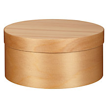 Buy Brooklyn Round Wooden Box Online at johnlewis.com
