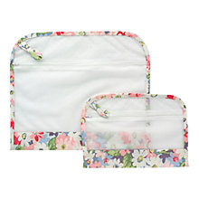 Buy Cath Kidston Pink Rose Laundry Bag With Net, Set of 2 Online at johnlewis.com