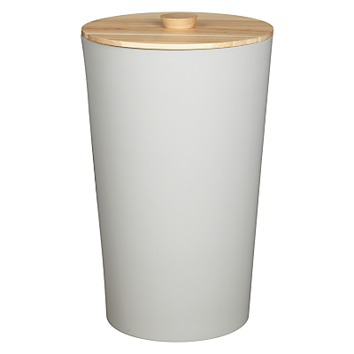John Lewis Scandi Tapered Laundry Bin, 45L