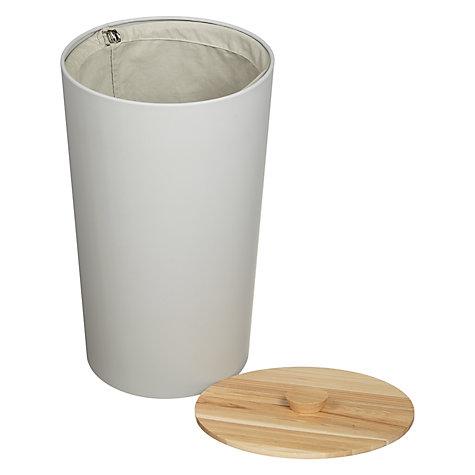 buy john lewis scandi tapered laundry bin 45l john lewis. Black Bedroom Furniture Sets. Home Design Ideas