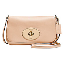 Buy Coach Polished Leather Across Body Clutch Bag Online at johnlewis.com