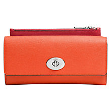 Buy Coach Leather Slim Envelope Wallet Online at johnlewis.com