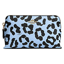 Buy Coach Leather Small Cosmetic Purse Online at johnlewis.com
