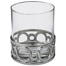Buy Royal Selangor Chateau Glass Whiskey Tumbler Online at johnlewis.com