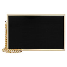 Buy Reiss Joy Resin Box Clutch Online at johnlewis.com