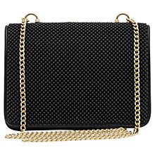 Buy Reiss Savannah Beaded Clutch Bag, Black Online at johnlewis.com