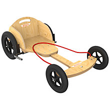 Buy Kiddimoto BoxKart, Natural Online at johnlewis.com